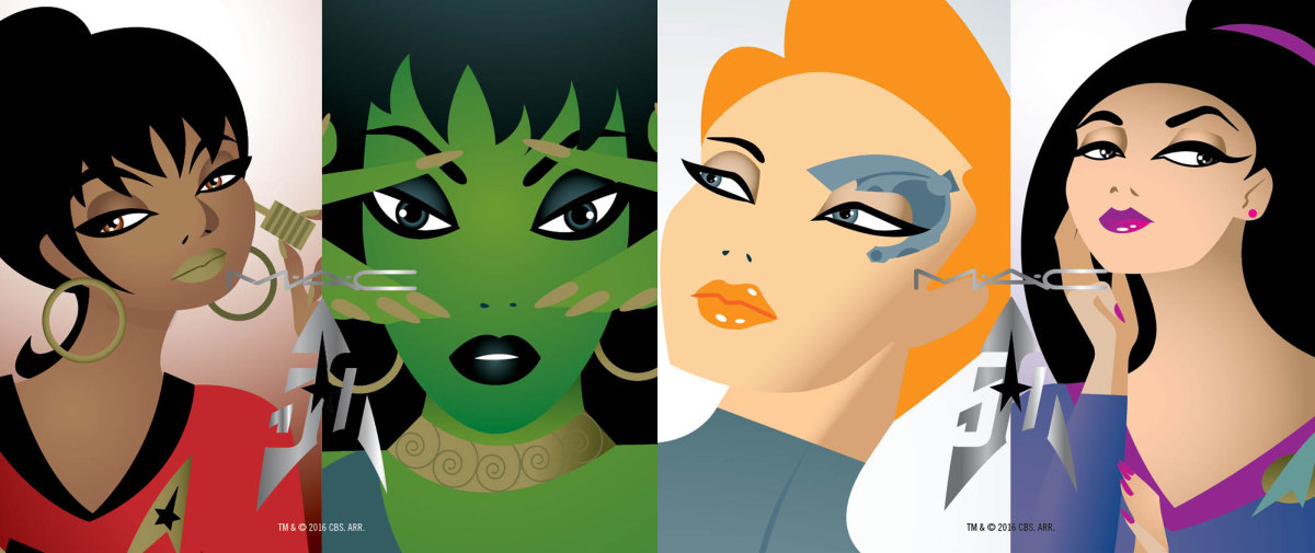 MAC Star Trek collection: the women of Star Trek