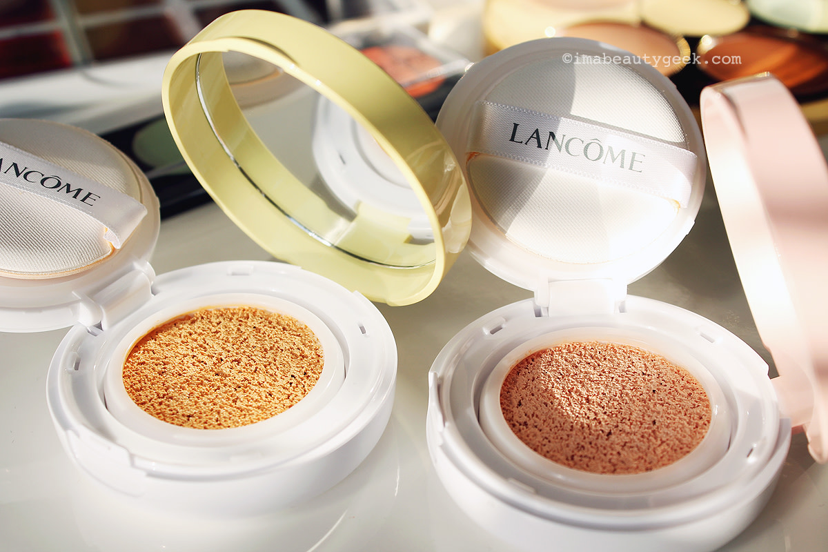 simplifying color correcting_Lancôme Miracle CC Cushion Color Correcting Primer