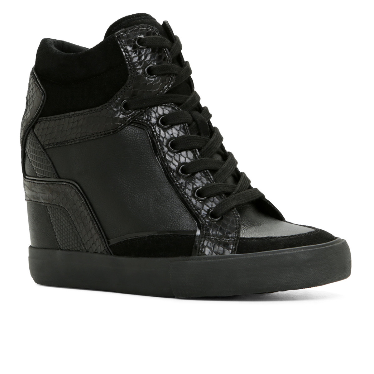 Aldo gift card giveaway_Bertilla wedge sneaker in black