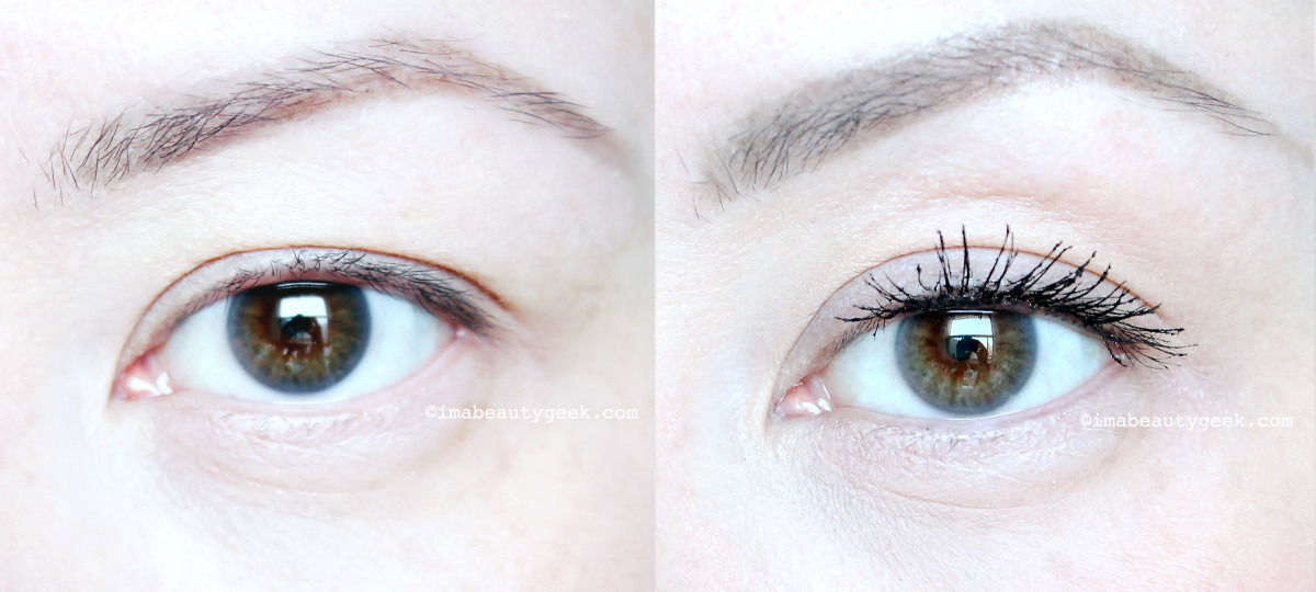 Revlon Dramatic Definition Mascara before and after_www.imabeautygeek.com