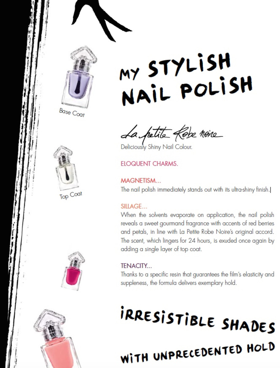 Guerlain La Petite Robe Noire Nail Polish
