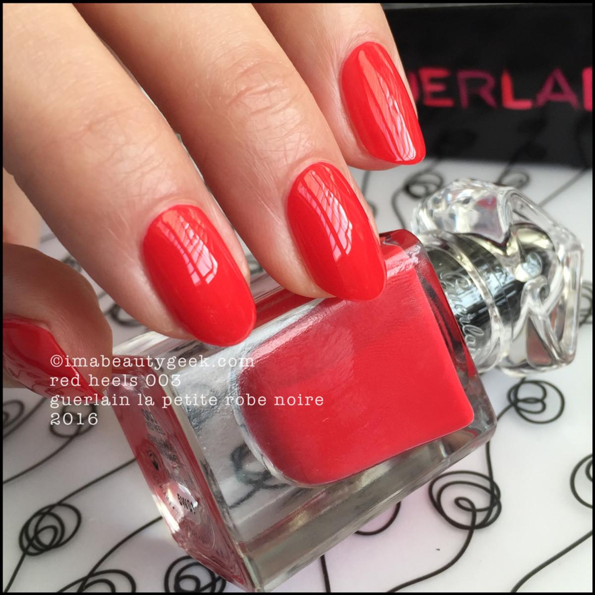 Guerlain La Petite Robe Noire_Guerlain Red Heels Nail Polish 2016