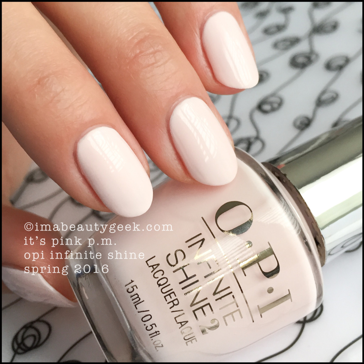 OPI Its Pink PM_OPI Infinite Shine Spring 2016