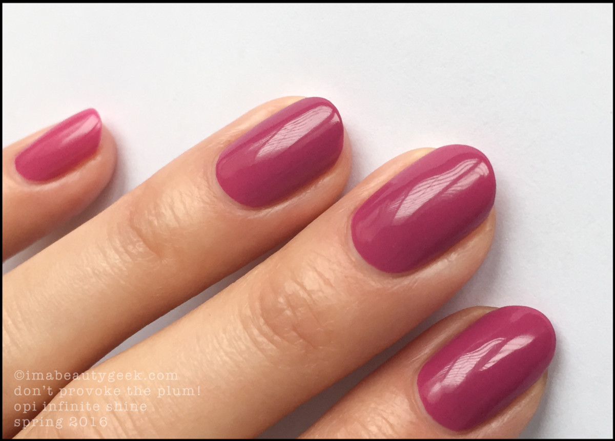 OPI Dont Provoke The Plum_OPI Infinite Shine 2016 Spring