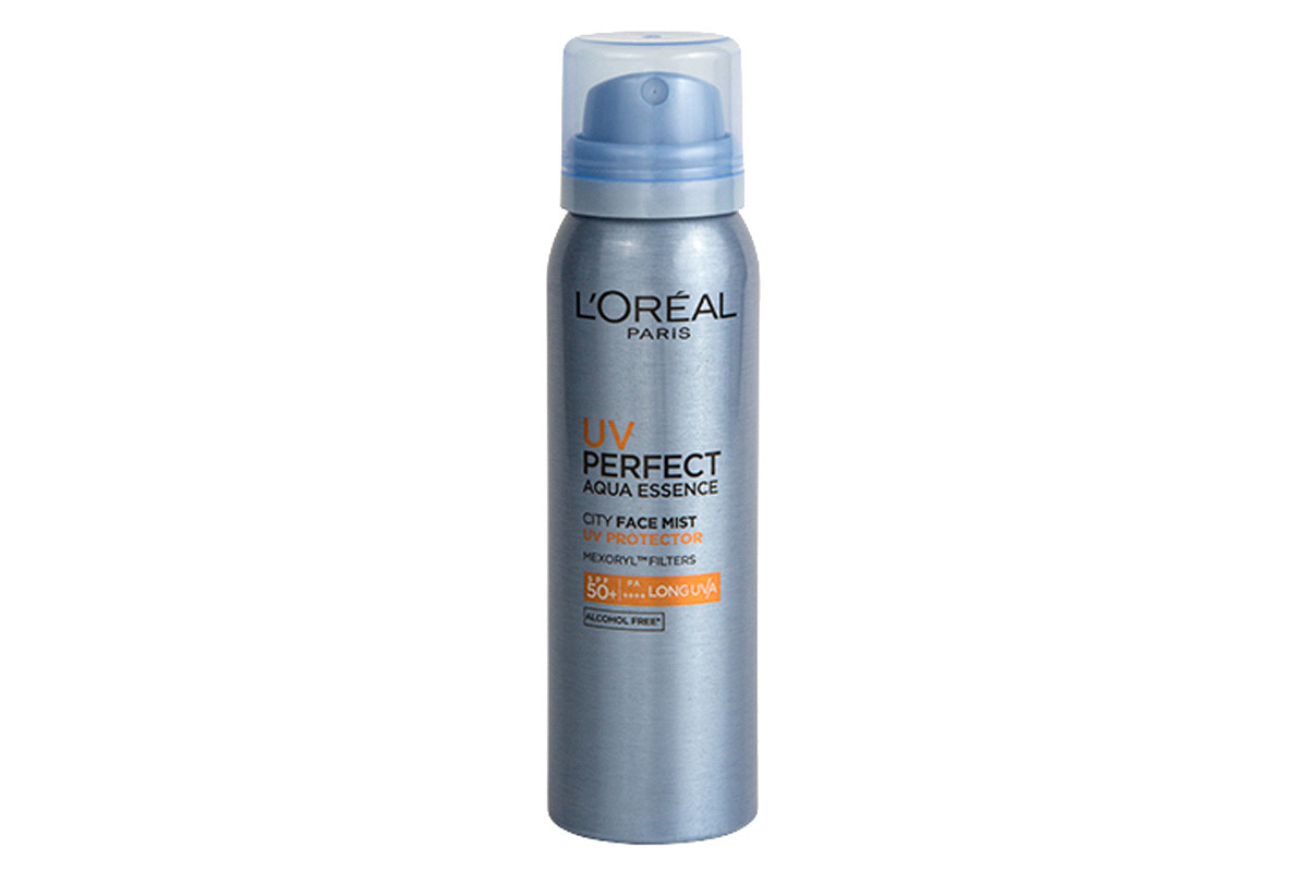 Sunscreen mists you can apply over makeup: L'Oréal Paris UV Perfect City Face Mist SPF 50