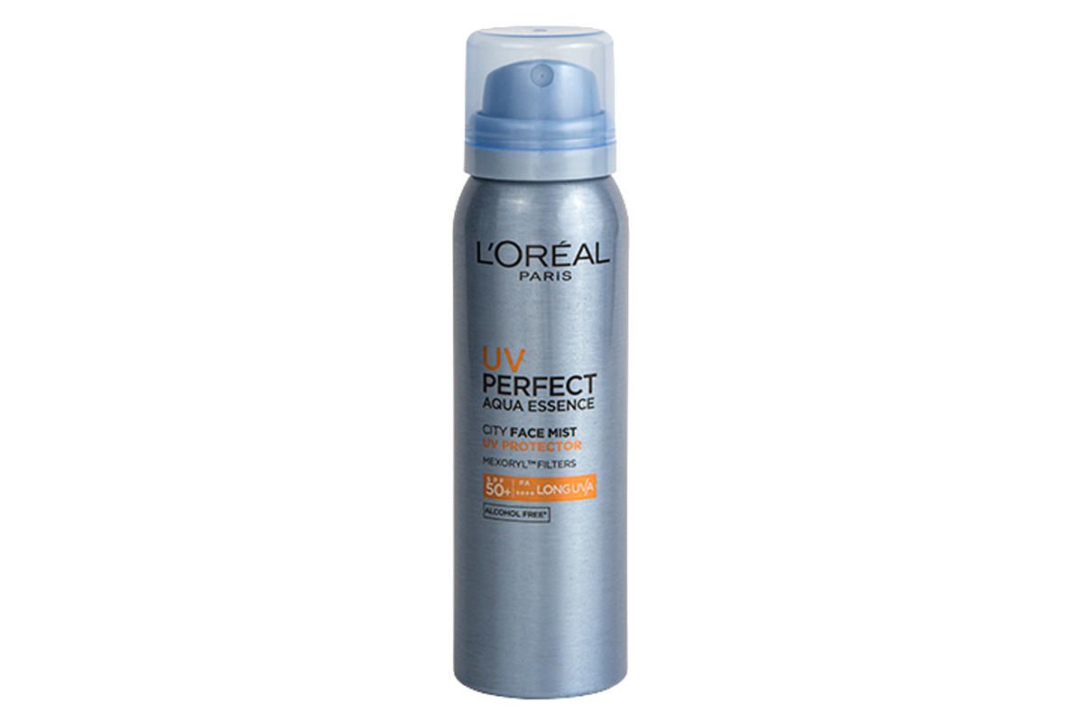 Sunscreen mists you can apply over makeup: L'Oréal Paris UV Perfect City Face Mist SPF 50