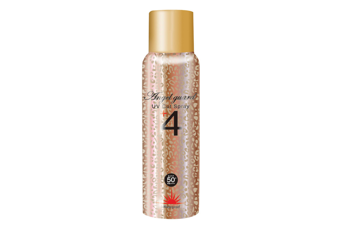 Sunscreen mists you can apply over makeup: Japanese brand Angel Guard UV Cut Spray SPF 50