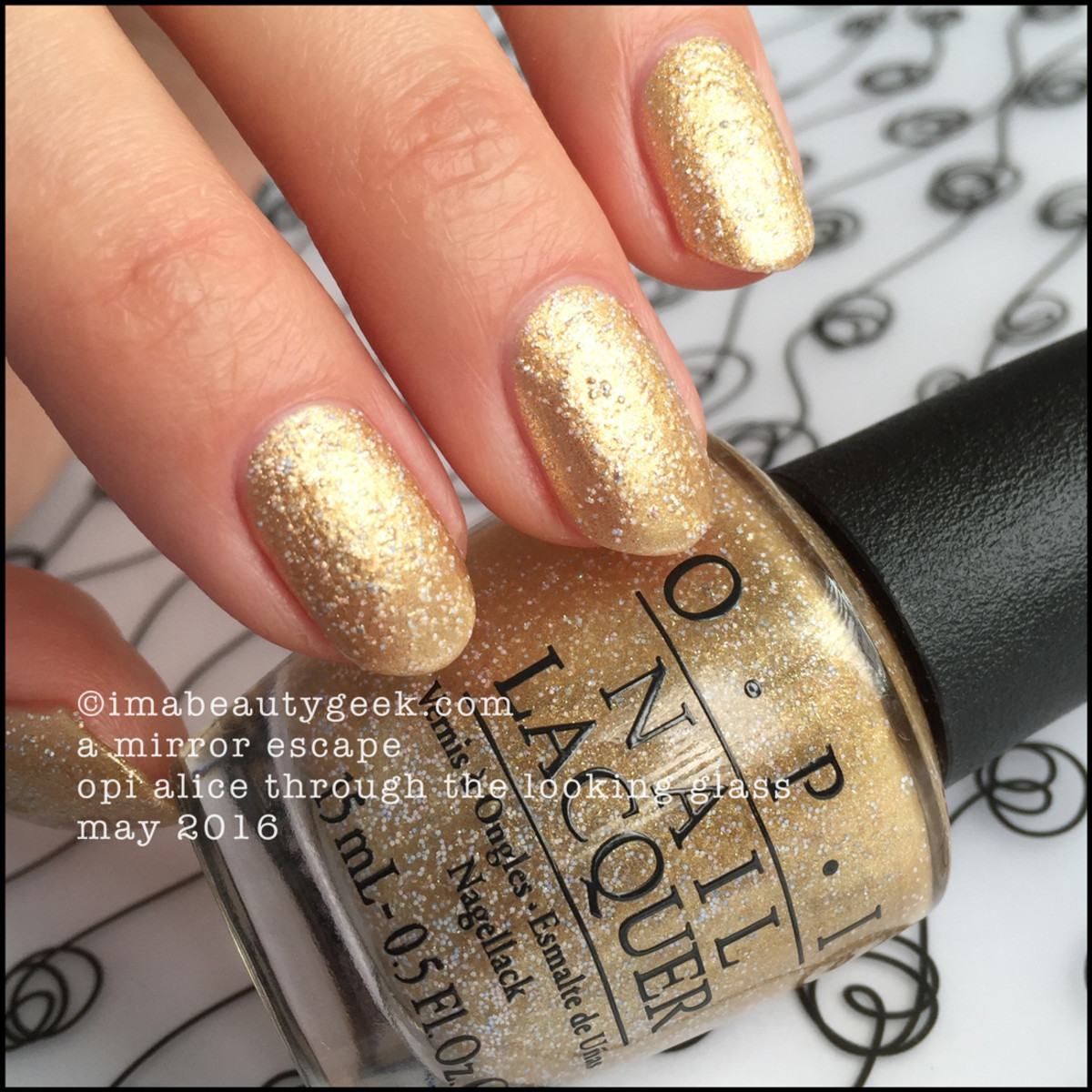 OPI A Mirror Escape_OPI Alice Through the Looking Glass 2016