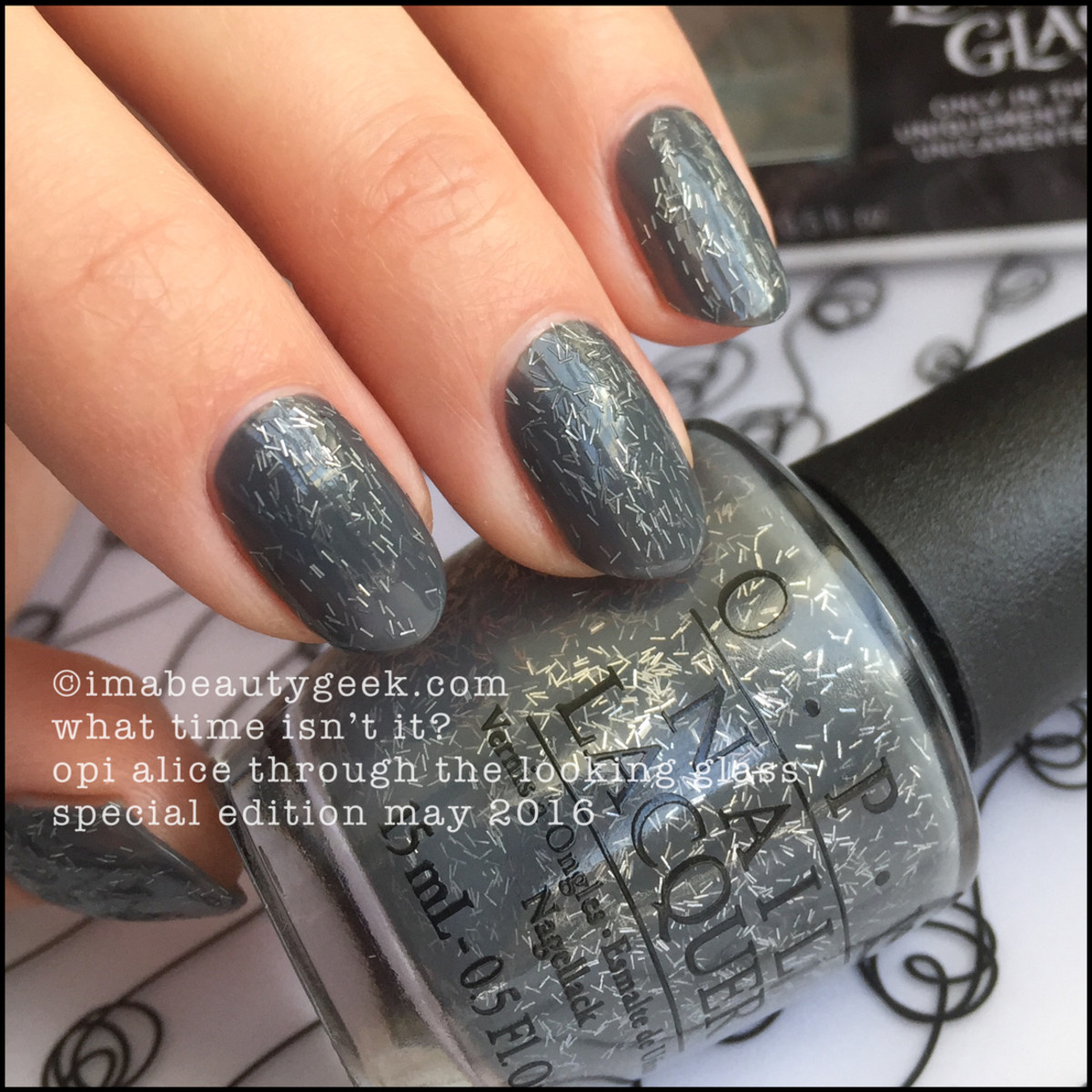 OPI What Time Isnt It_OPI Alice Through The Looking Glass 2016