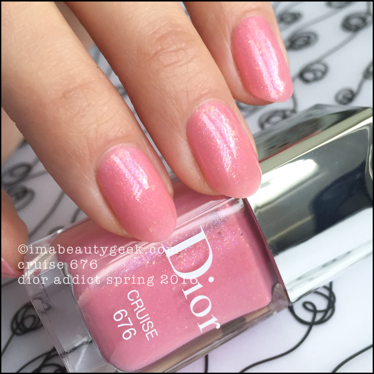 Dior Cruise Vernis 676_Dior Addict Nail Vernis Spring 2016