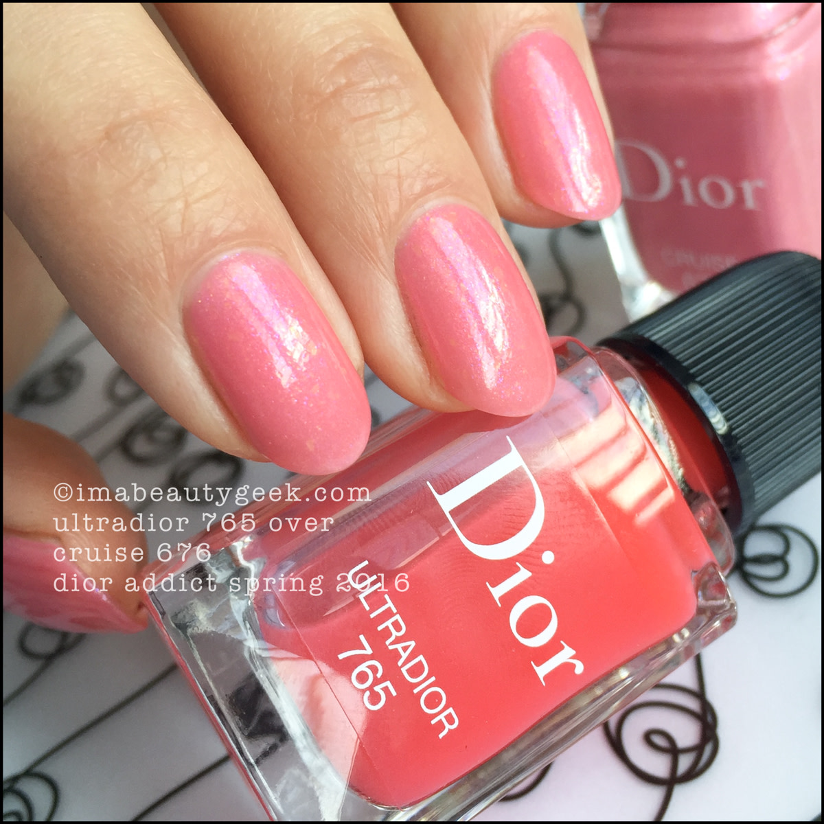 Dior Ultradior Vernis 765 over Cruise 676_Dior Addict Collection Spring 2016