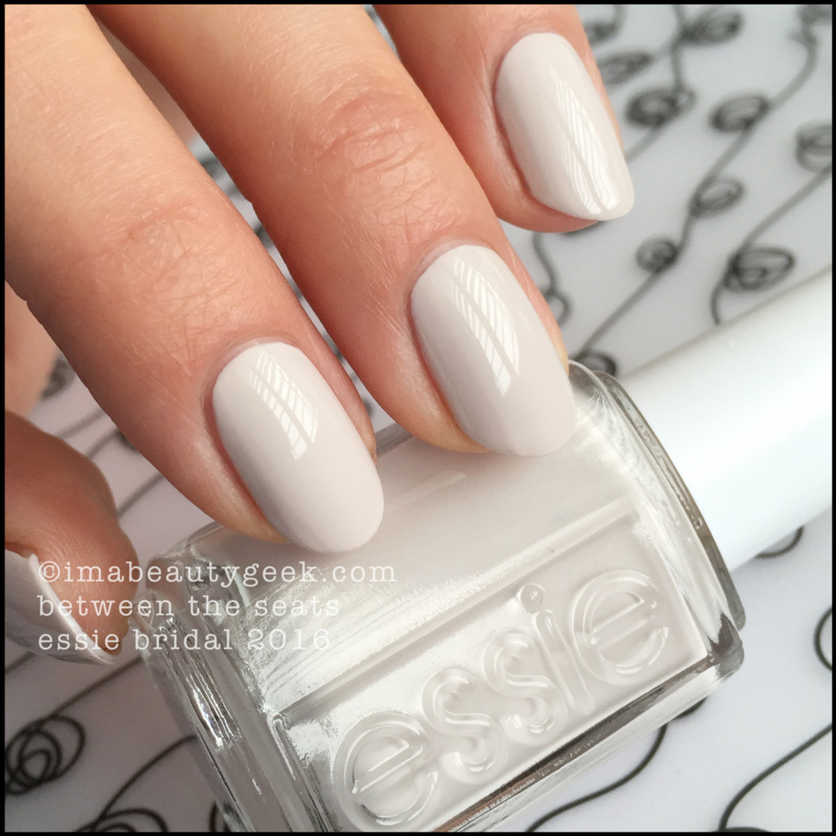 Essie Between the Seats_Essie Bridal 2016 Swatches Review