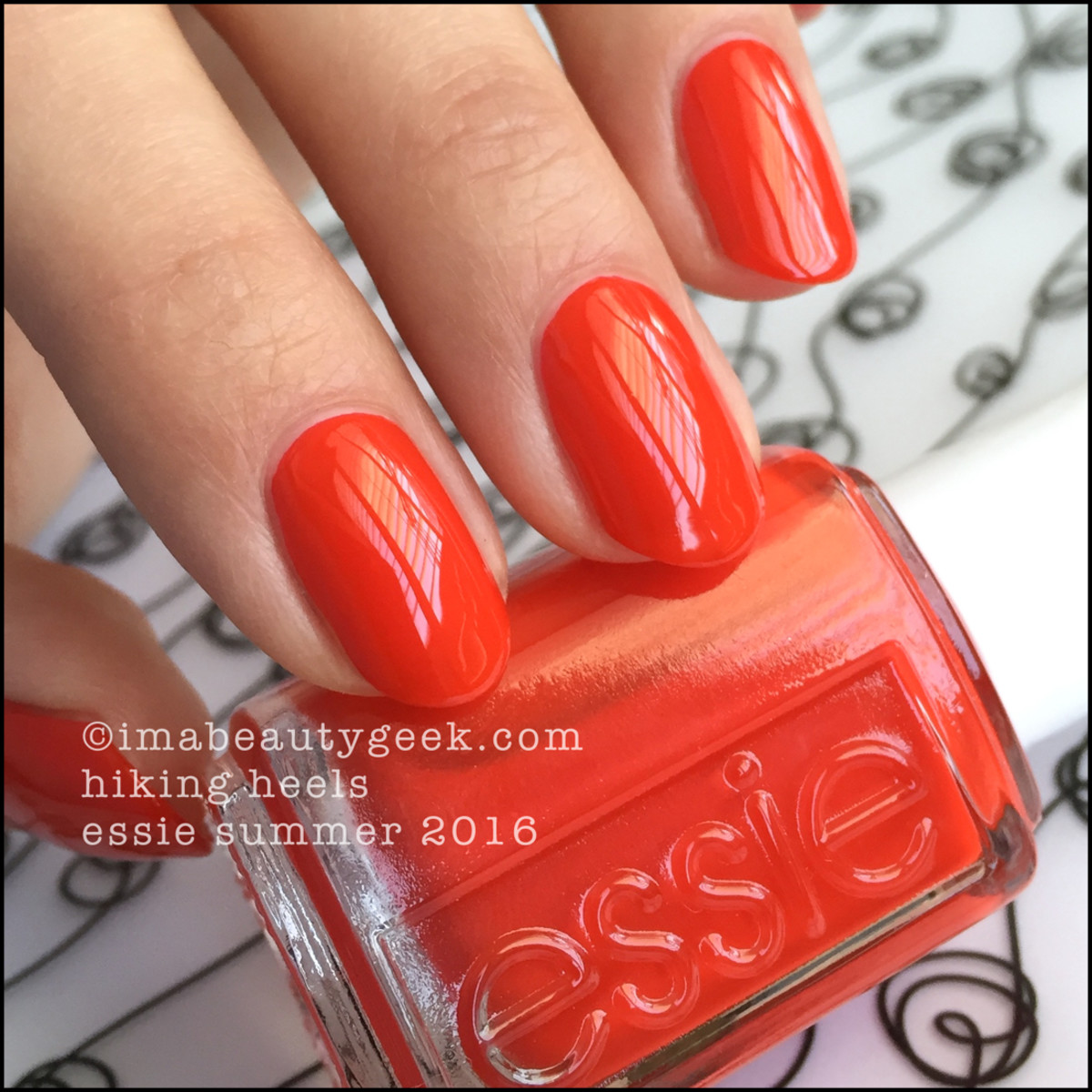 Essie Hiking Heels_Essie Summer 2016 Review Swatches