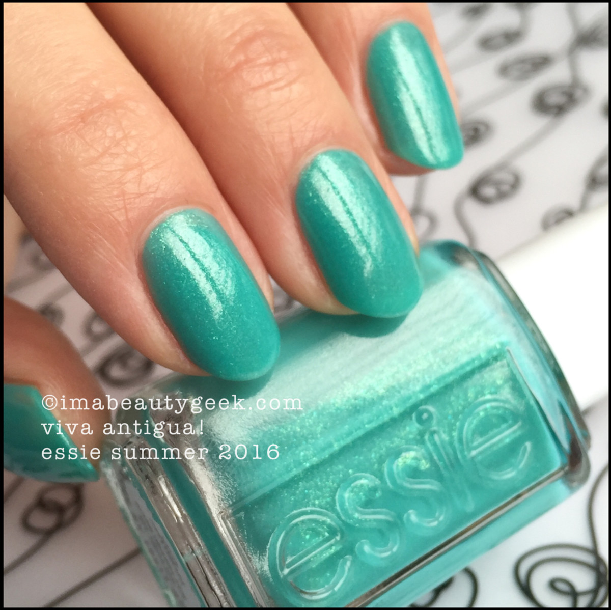 Essie Viva Antigua_Essie Summer 2016 Swatches Review