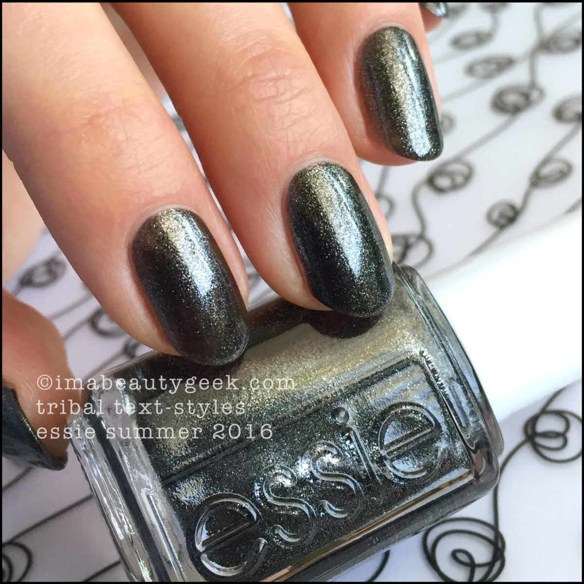 Essie Tribal Text Styles_Essie Summer 2016 Review Swatches