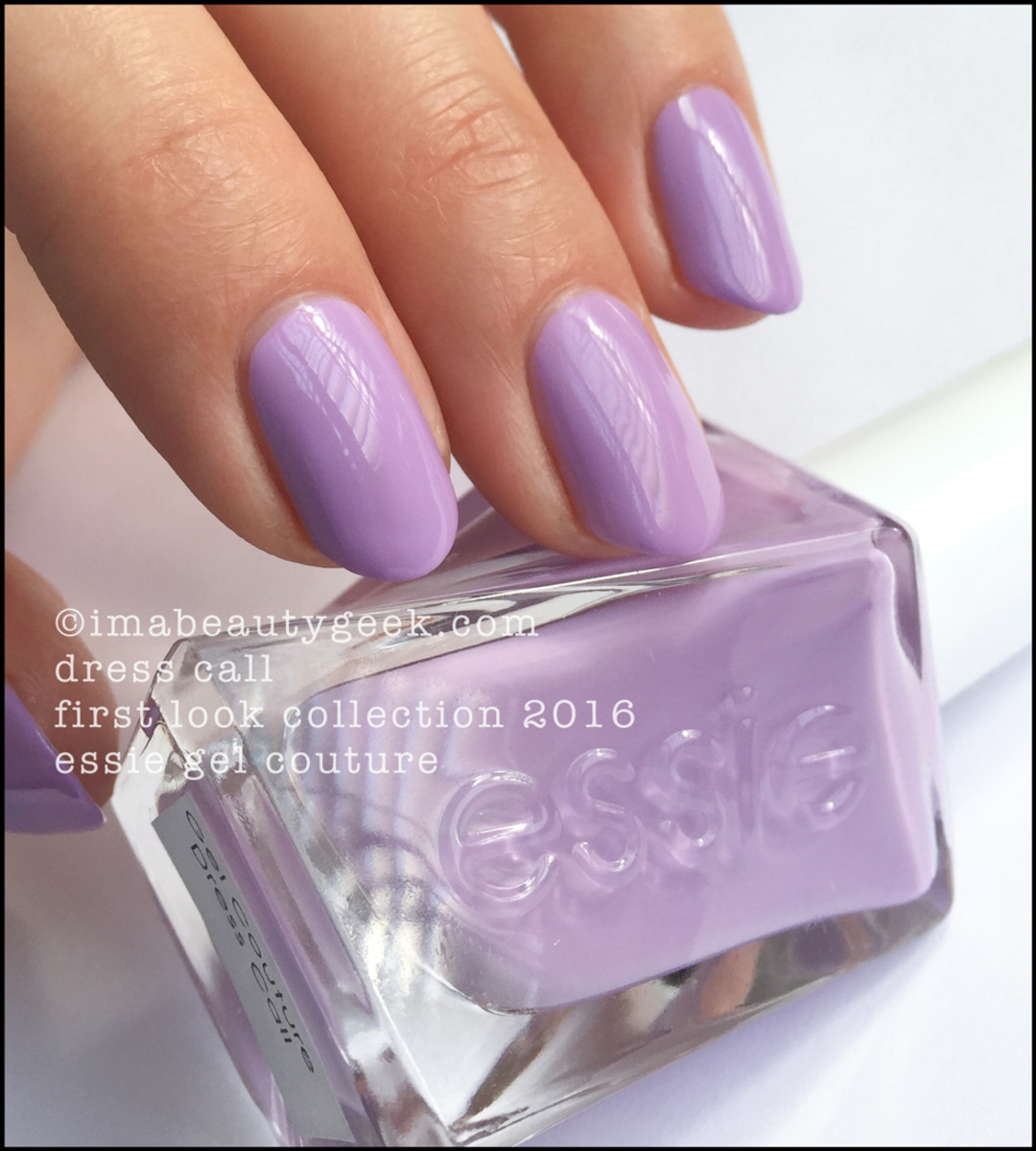 Essie Gel Couture Swatches Review_Essie Dress Call