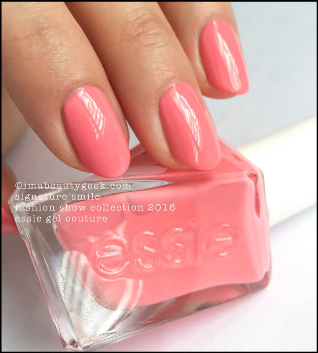 ESSIE GEL COUTURE LAUNCH COLLECTION: ALL 42 SWATCHES