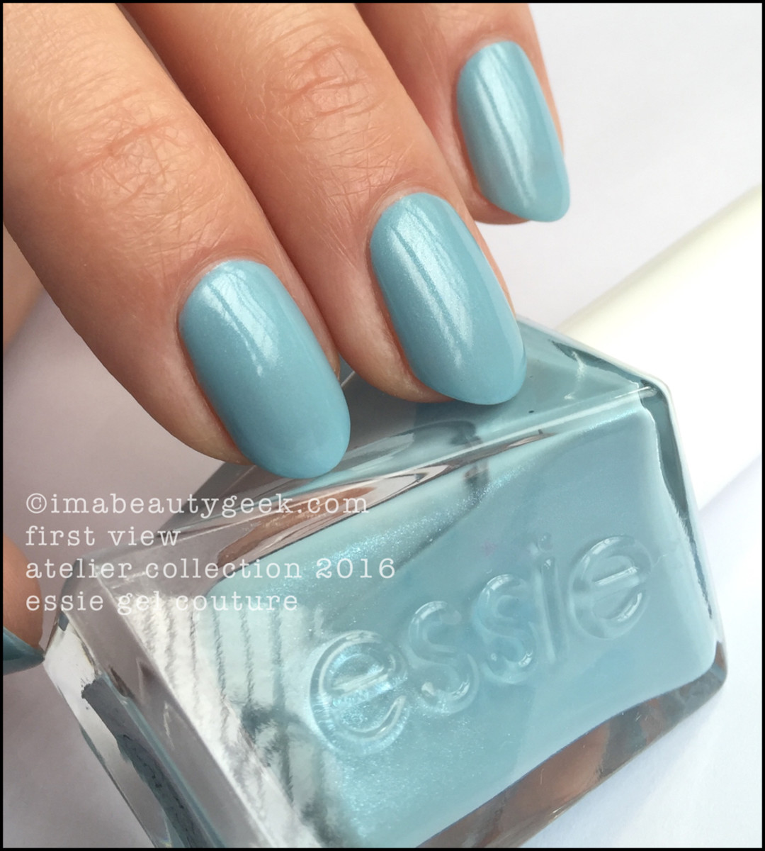 Essie First View_Essie Gel Couture Swatches Review 2016