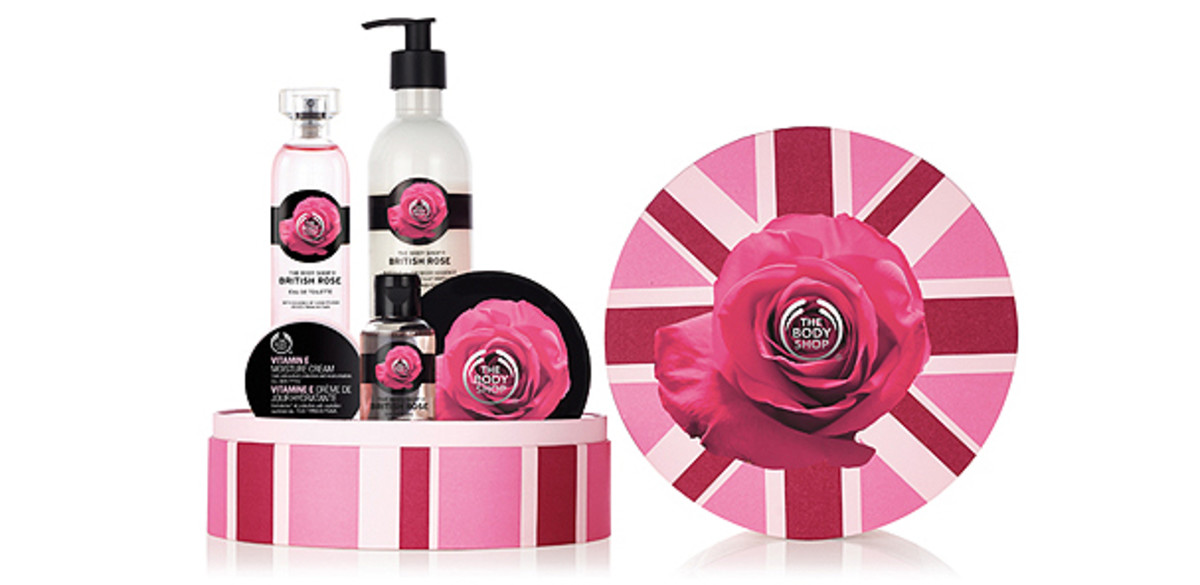 The Body Shop British Rose Deluxe Collection gift set