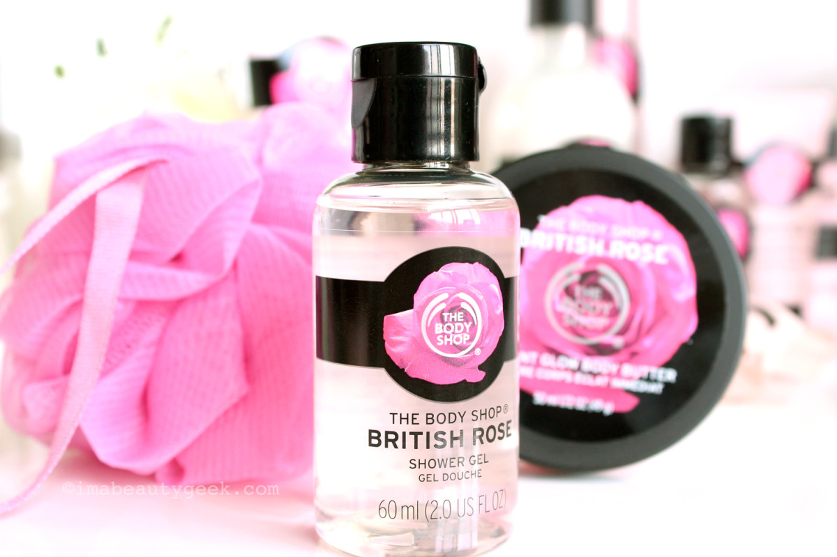The Body Shop British Rose Treats Gift Set, $10 CAd