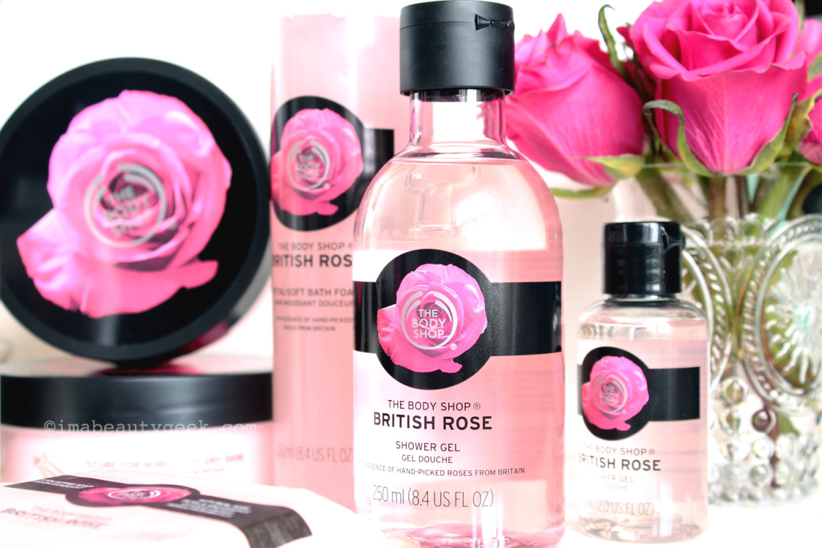 The Body Shop British Rose Body Care Collection Beautygeeks