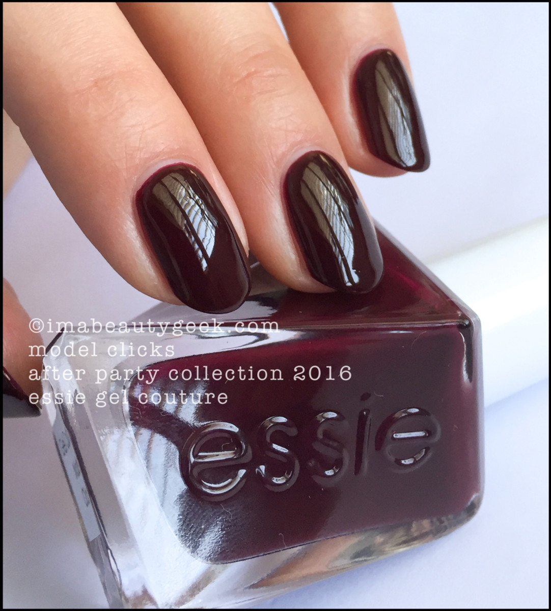 Essie Model Clicks_Essie Gel Couture Review Swatches 2016
