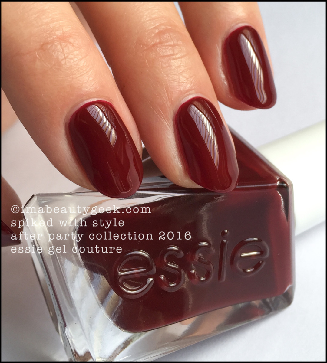 Essie Spiked With Style_Essie Gel Couture Review Swatches