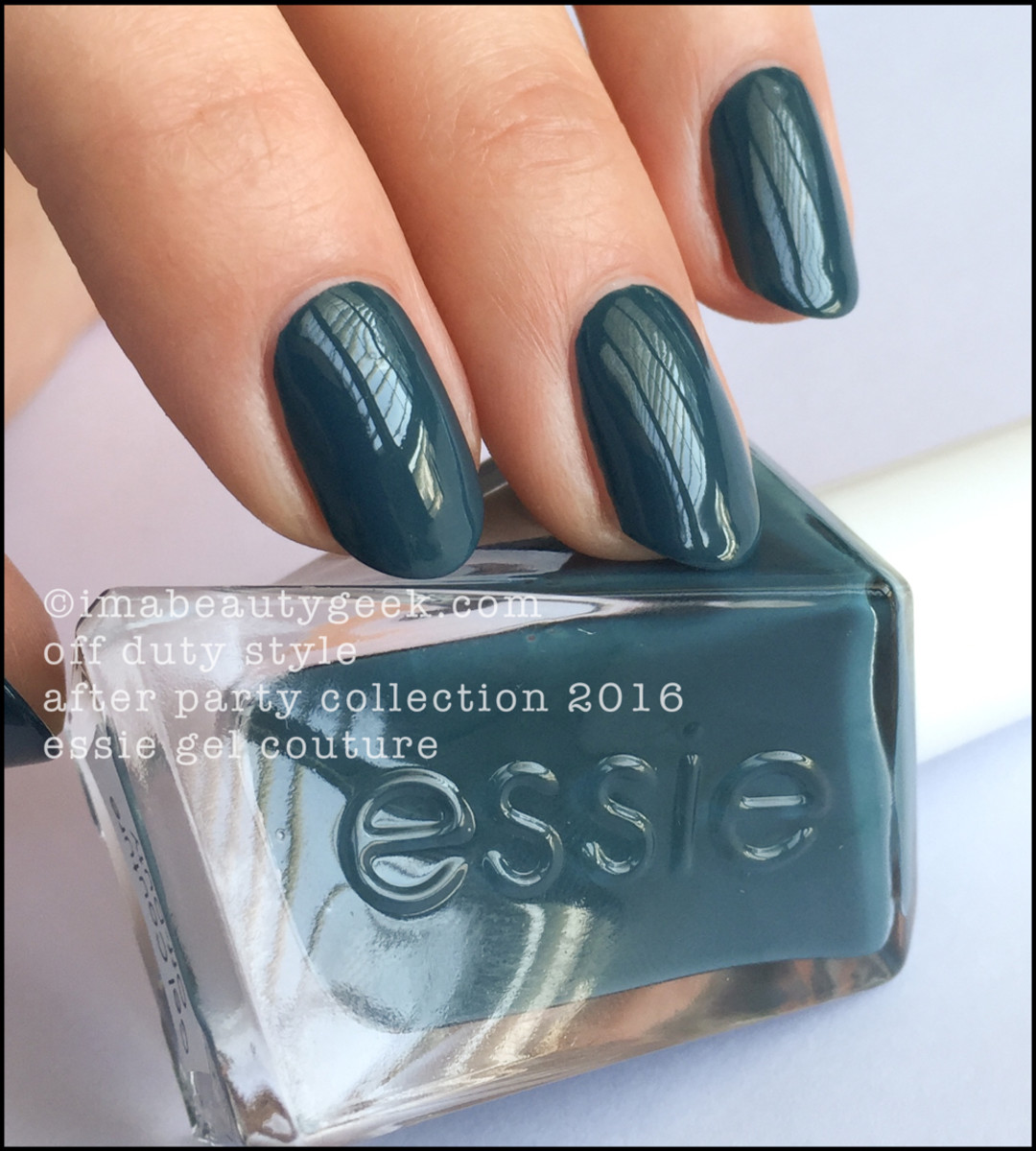 Essie Off Duty Style_Essie Gel Couture Review Swatches 2016
