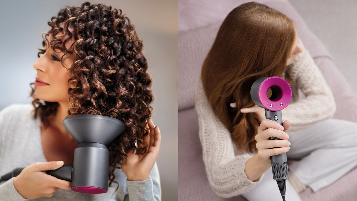 dyson supersonic hairdryer: how to use