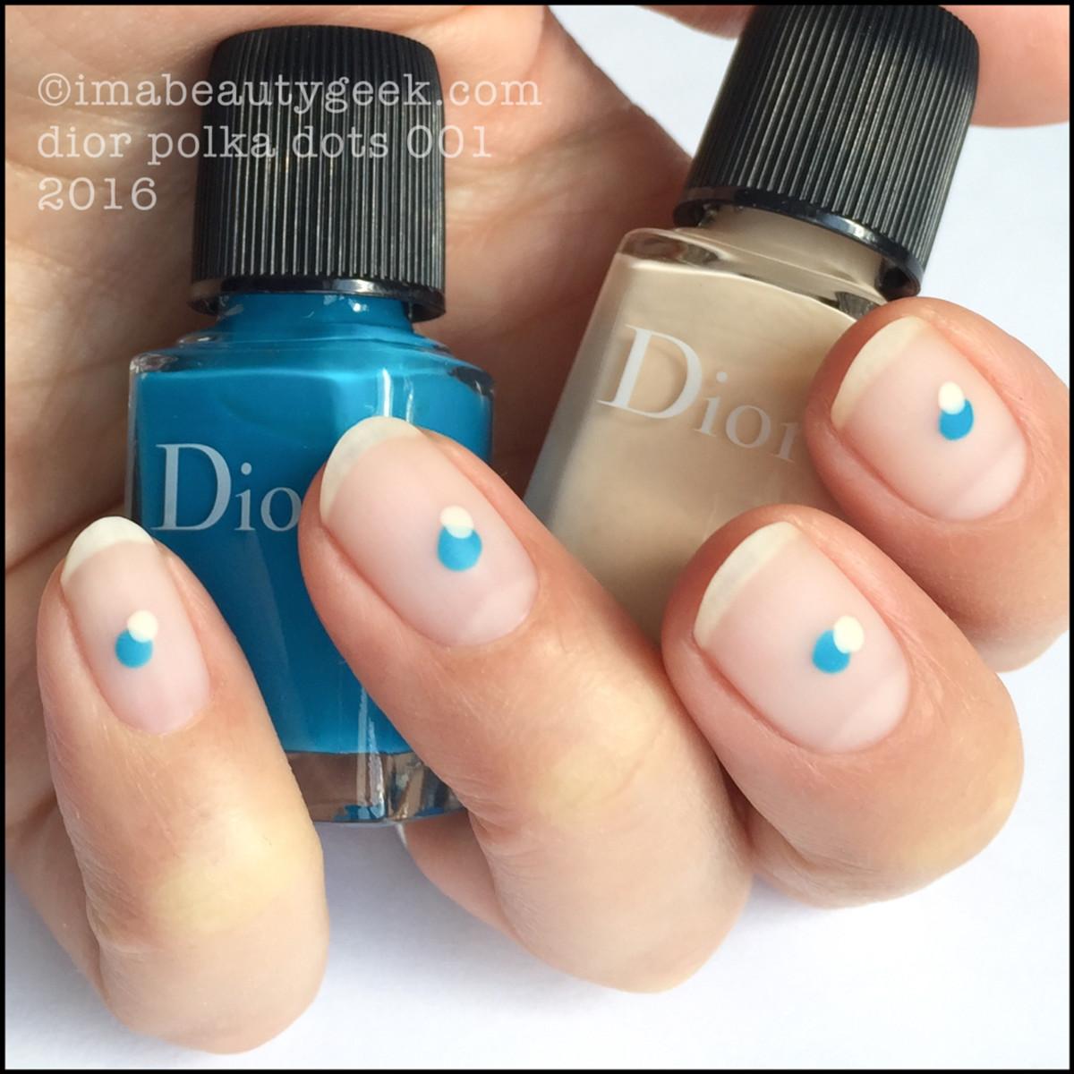 Dior Polka Dots 001_Dior Vernis 212 and 795 Summer 2016