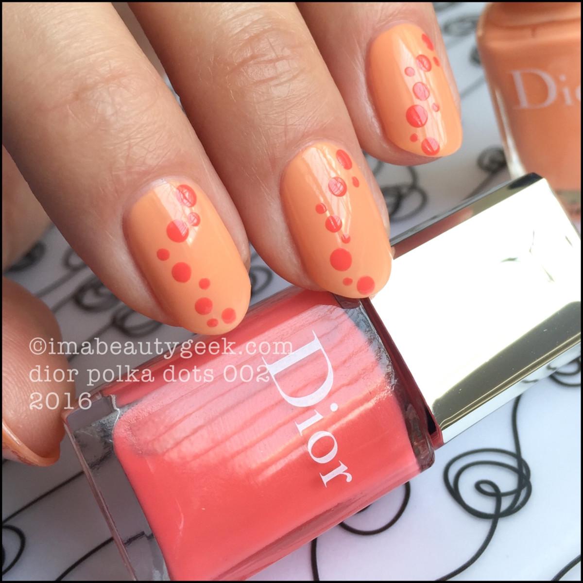Dior Polka Dots 002_Dior Vernis 432 and 652 Summer 2016