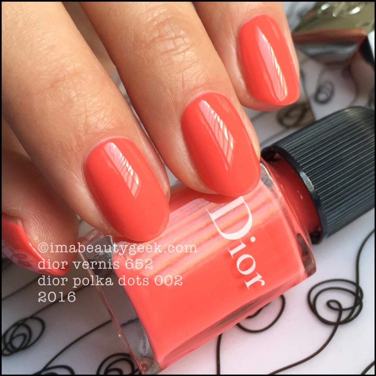 Dior Polka Dots 002_Dior Vernis 652 Summer 2016