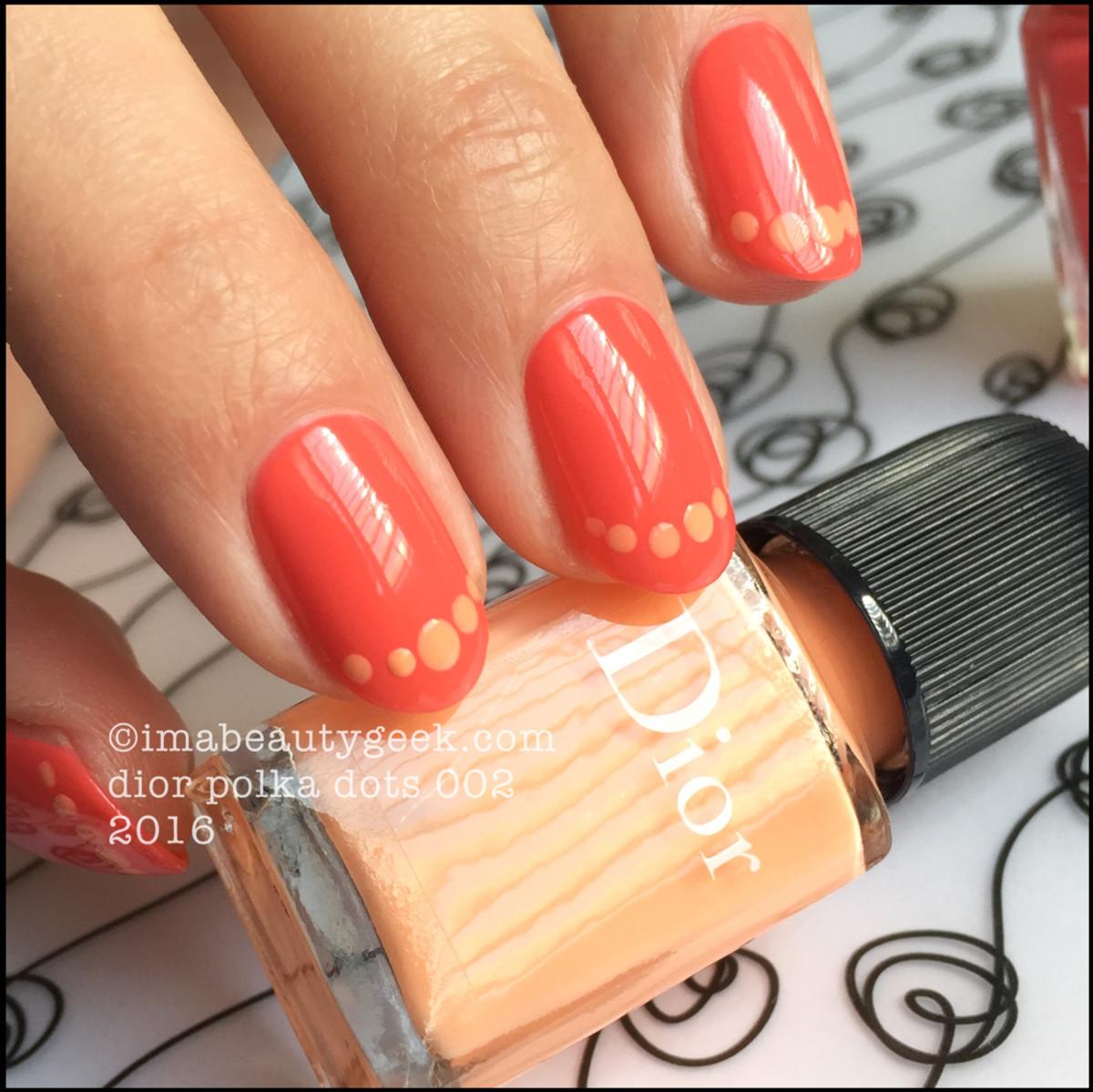 Dior Polka Dots 002_Dior Vernis 652 and 432 Summer 2016