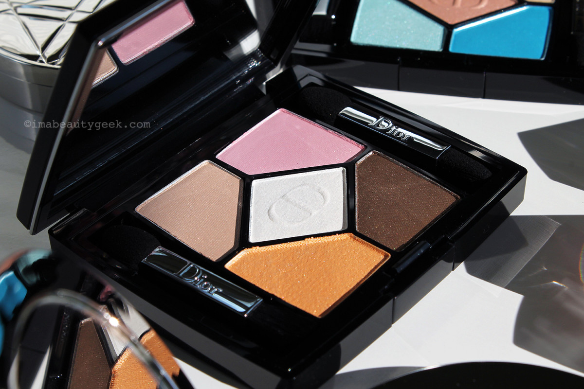 Dior 5-Colour Eyeshadow in Escapade
