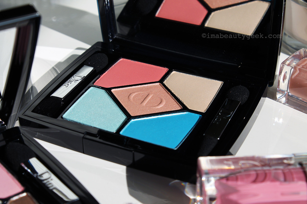 Dior 5-Colour Eyeshadow in Bain de Mer