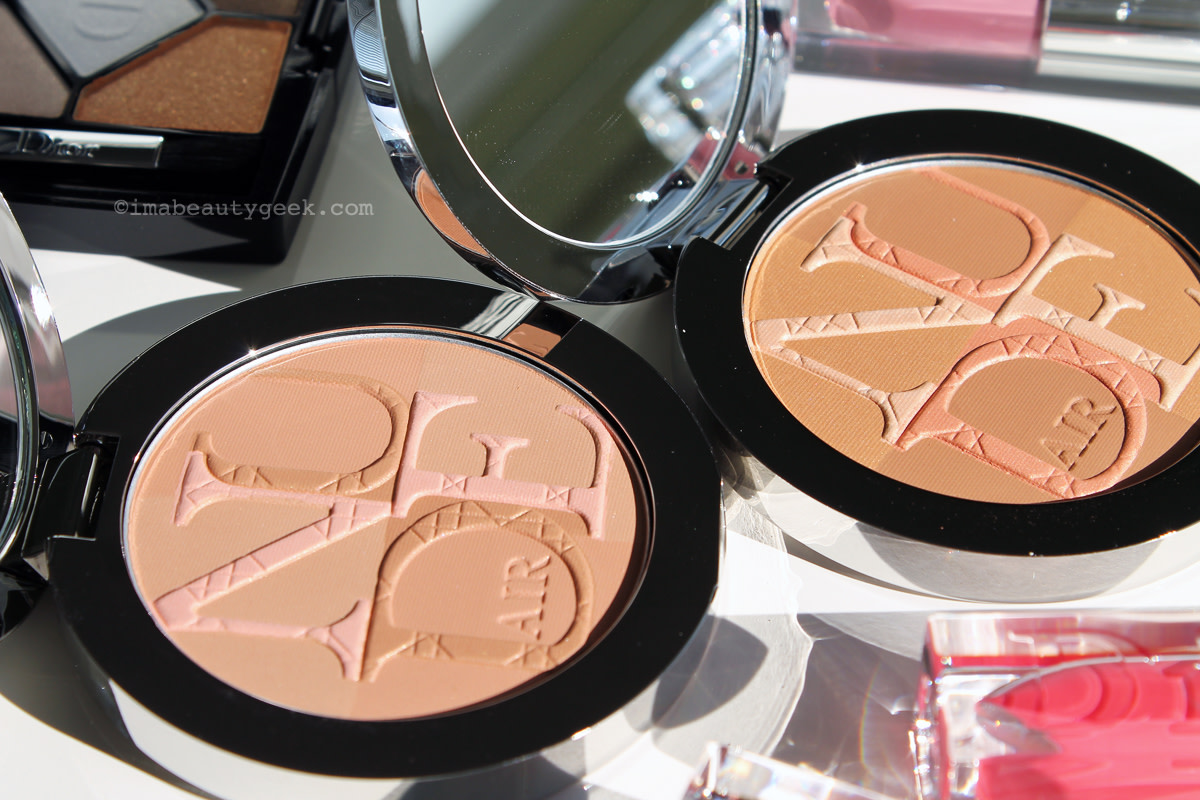 Dior Nude Air Glow Powder in Fresh Light and Fresh Tan