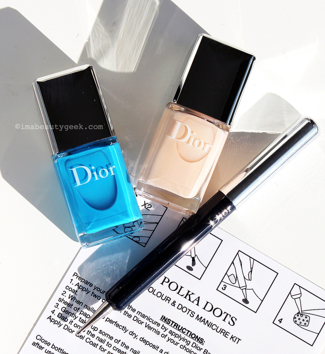 Dior Polka Dots Colour & Dots Manicure Kit limited edition
