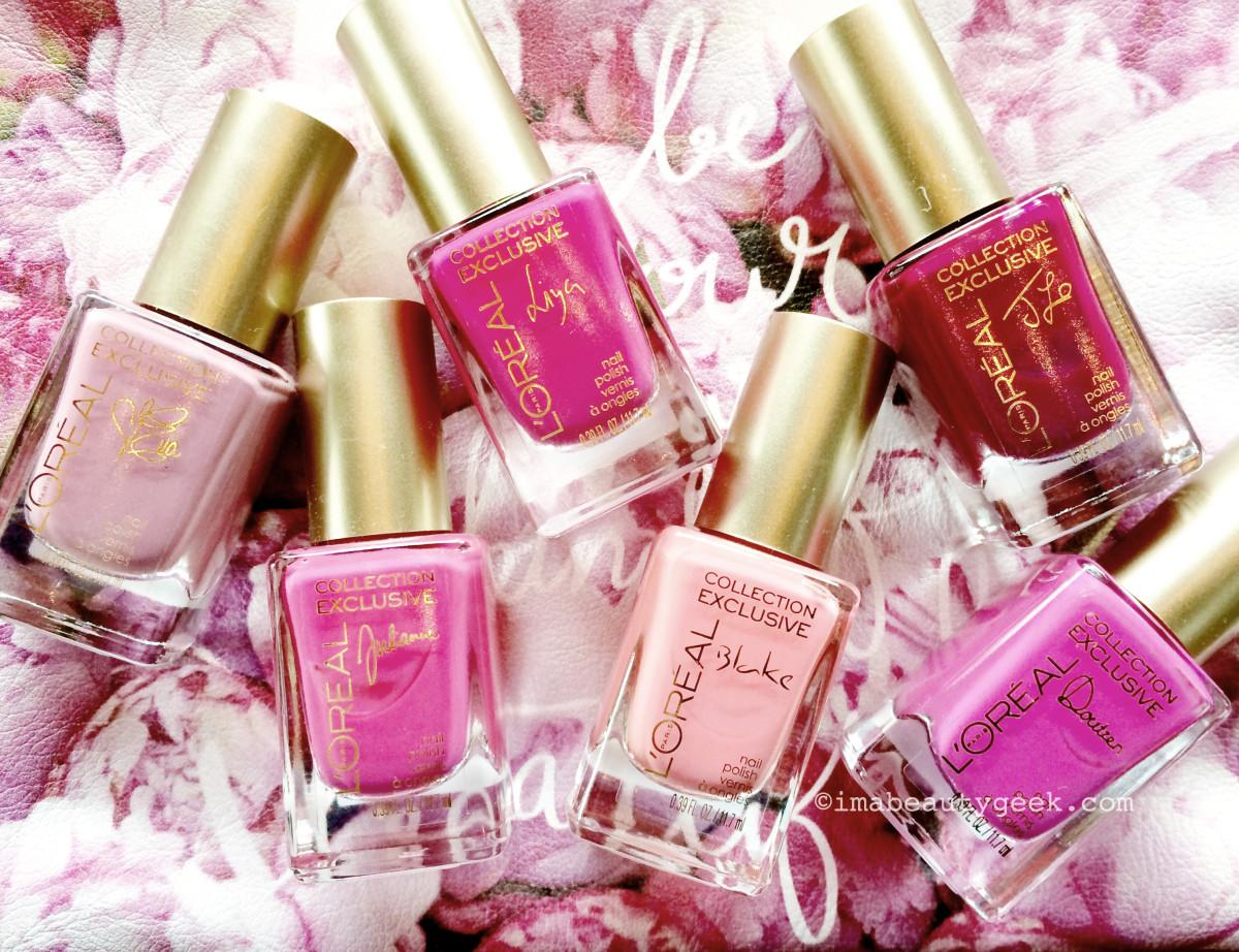 L'Oreal Paris La Vie En Rose Collection Exclusive limited edition nail polish