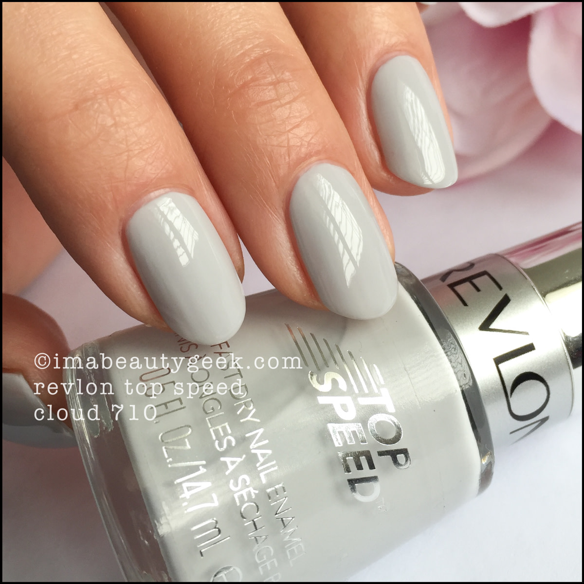 Revlon Nail Polish Cloud 710_Revlon Top Speed Cloud