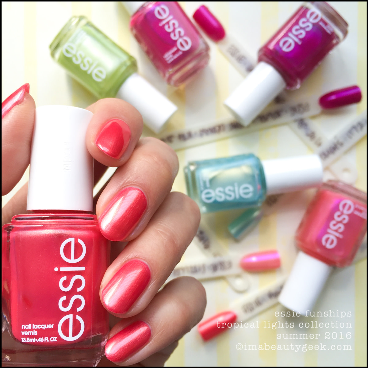 Essie Funships_Essie Tropical Lights Summer 2016 Collection