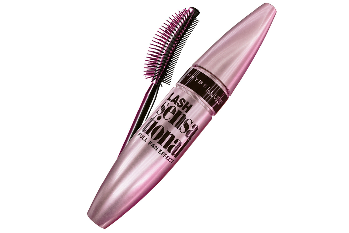 Maybelline Lash Sensational Full Fan Effect Mascara and brush