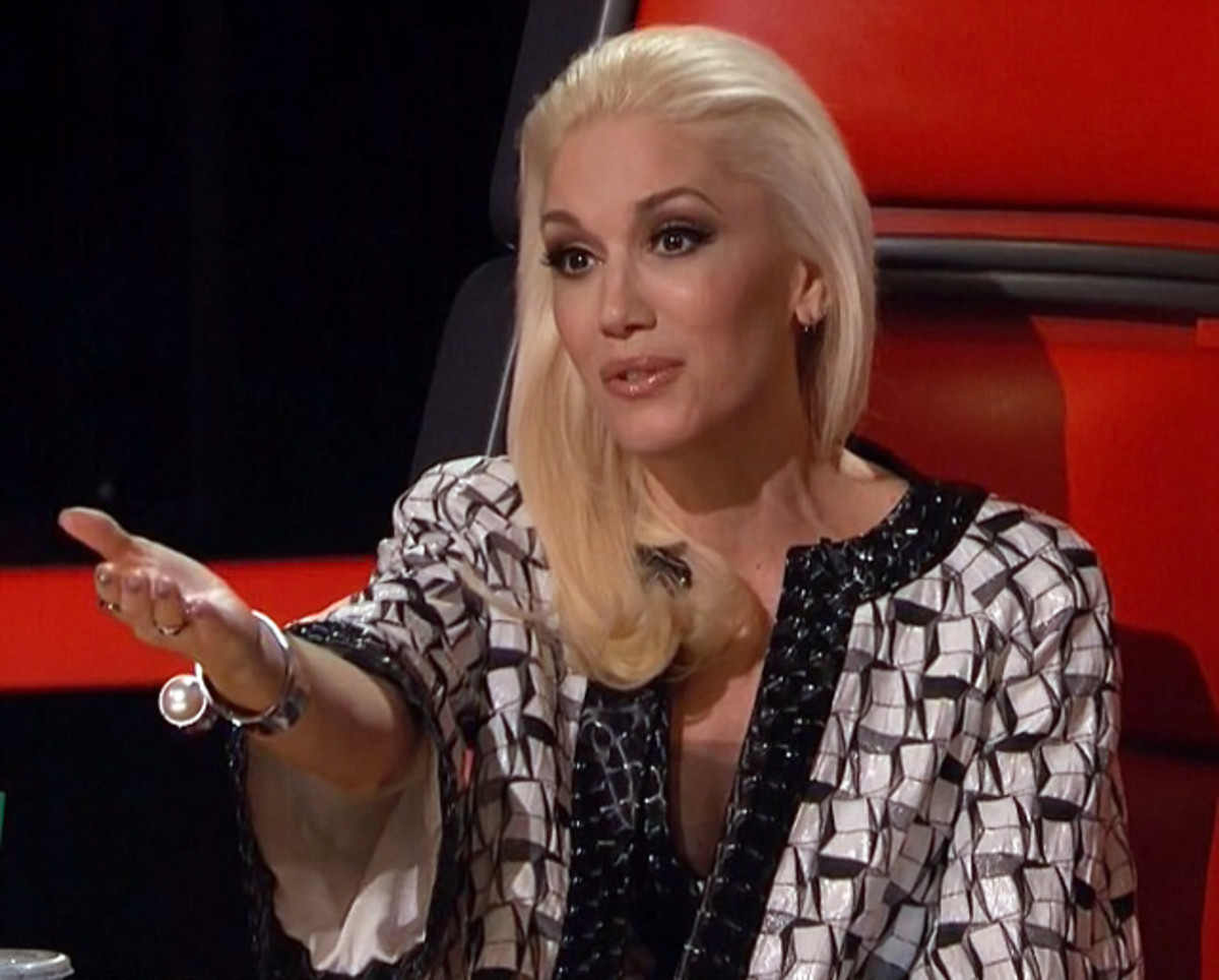 Fave Gwen Stefani makeup look on The Voice Season 8