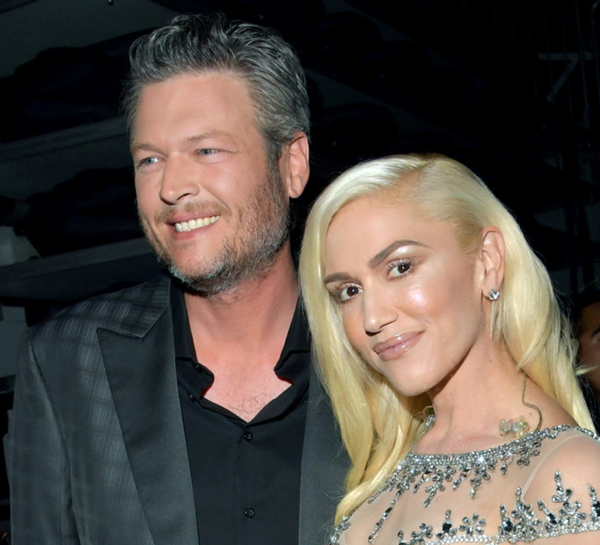 Gwen Stefani and beau Blake Shelton performed a duet from his new album, If I'm Honest.