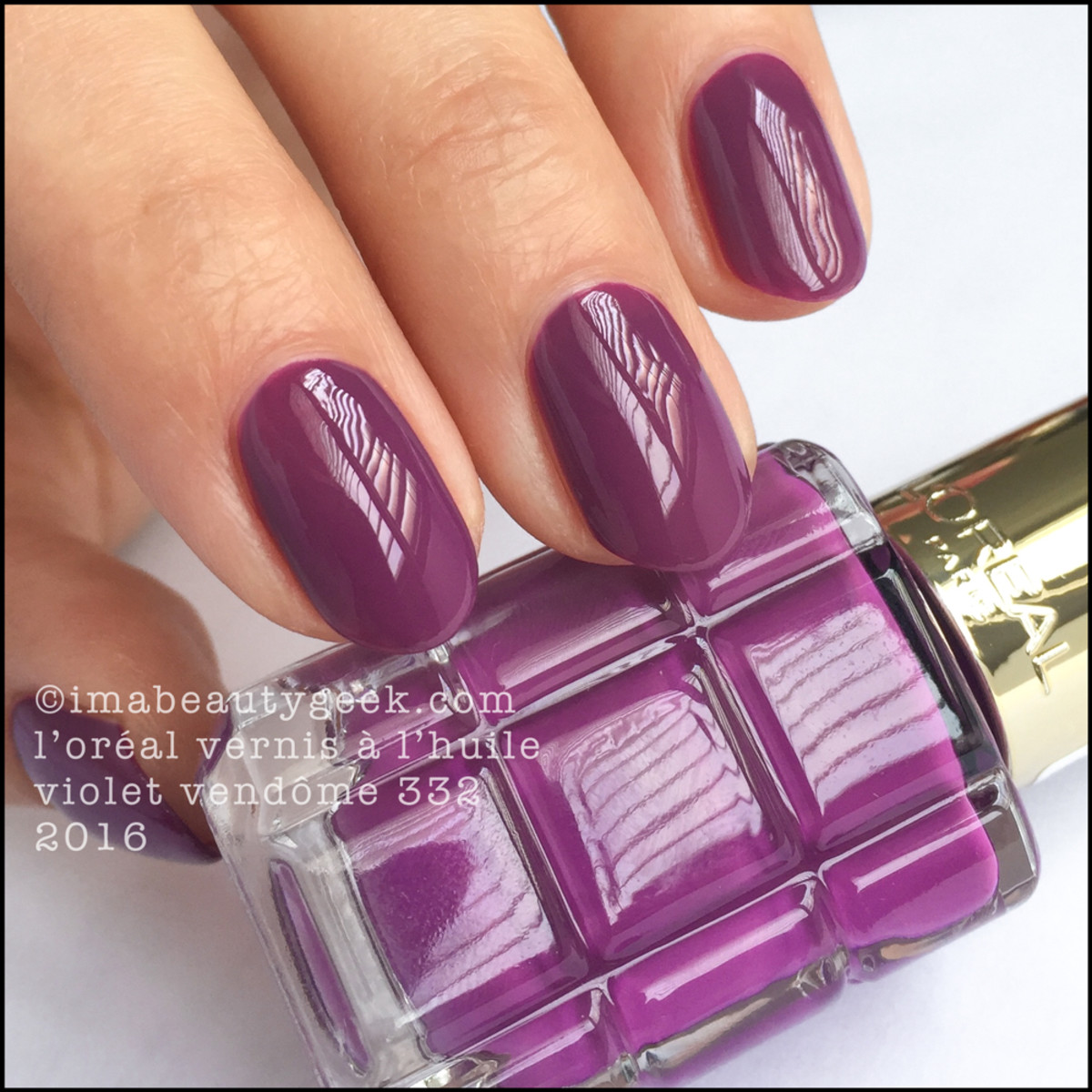 L\'OREAL VERNIS A L\'HUILE SWATCHES & REVIEW - Beautygeeks