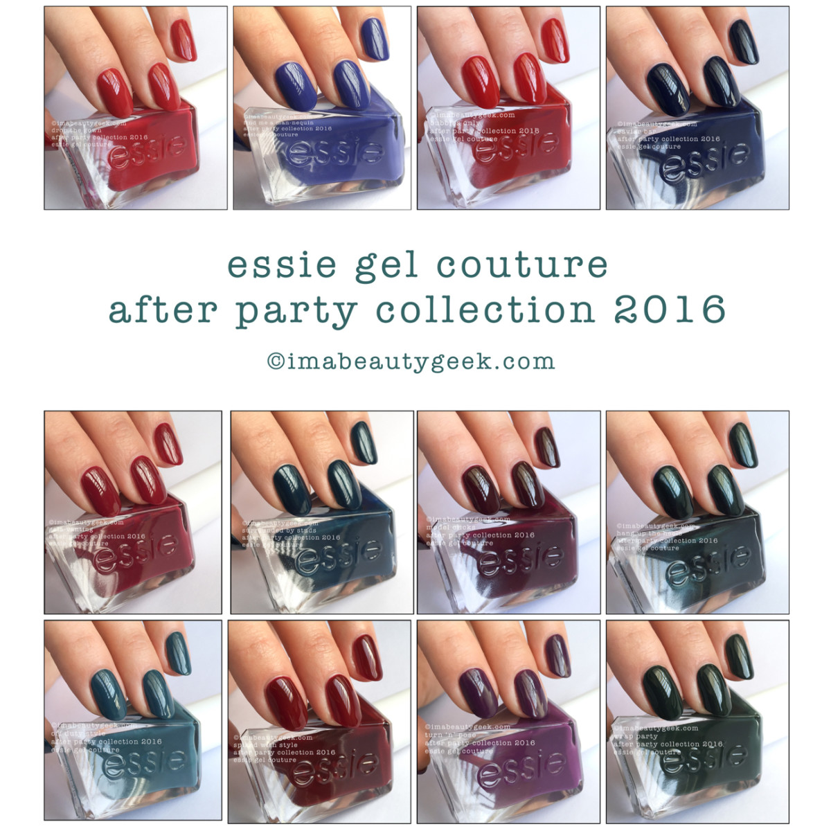 Essie Gel Couture: After Party collection