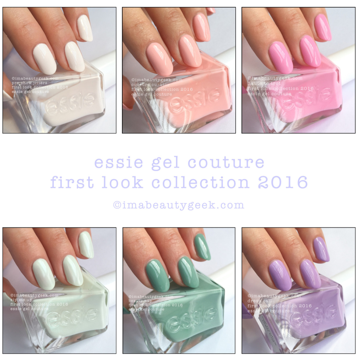 Essie Gel Couture nail polish: First Look collection