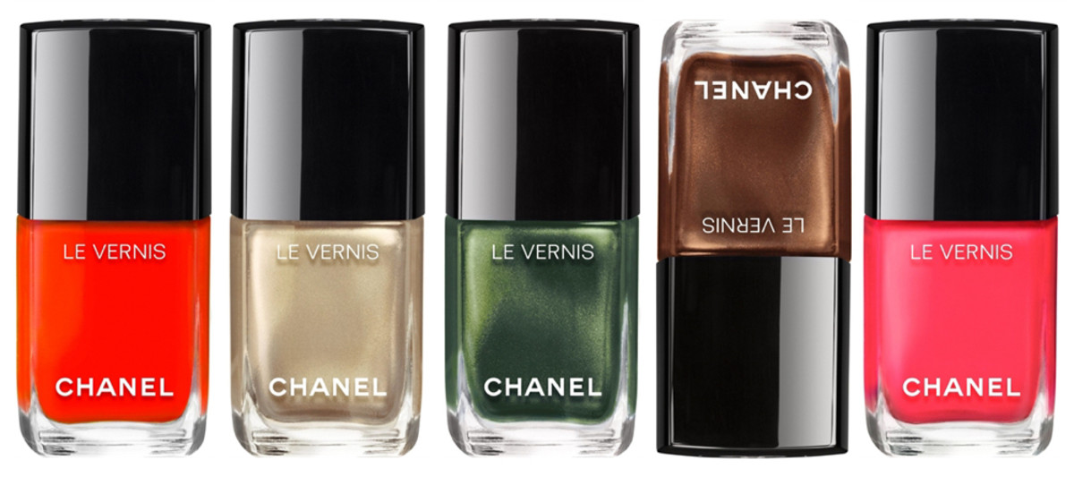 CHANEL SUMMER 2016 VERNIS SWATCHES & REVIEW - Beautygeeks