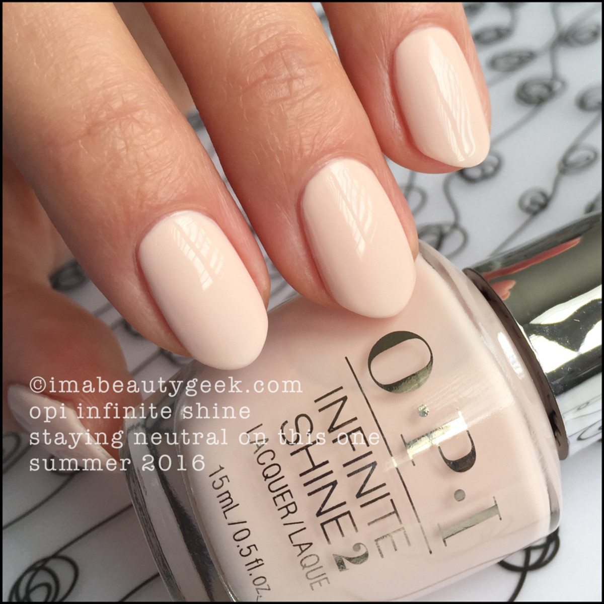 OPI Infinite Shine Summer 2016 Review Swatches_OPI Staying Neutral on This One
