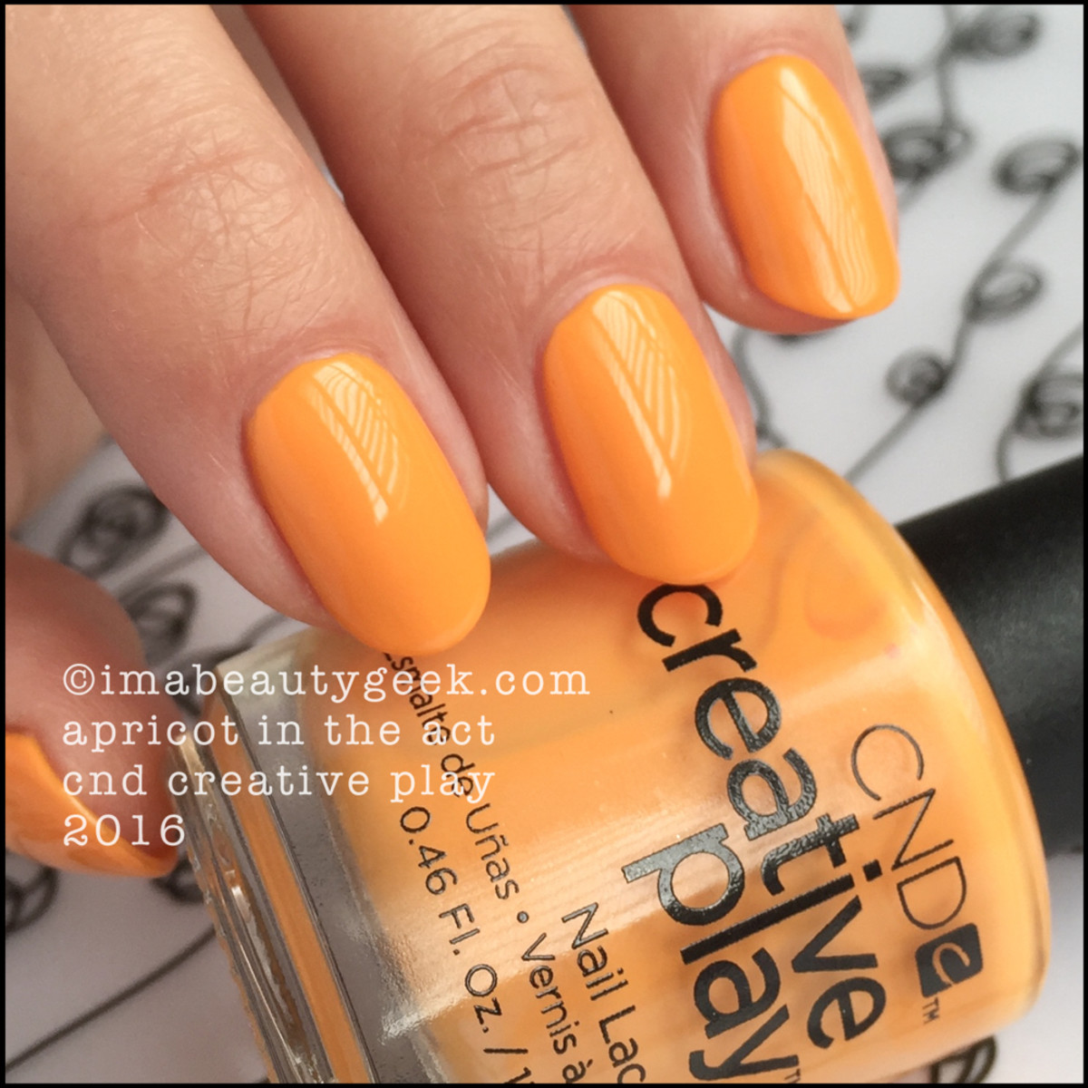 CND Creative Play Apricot In the Act_CND Creative Play Nail Polish Swatches