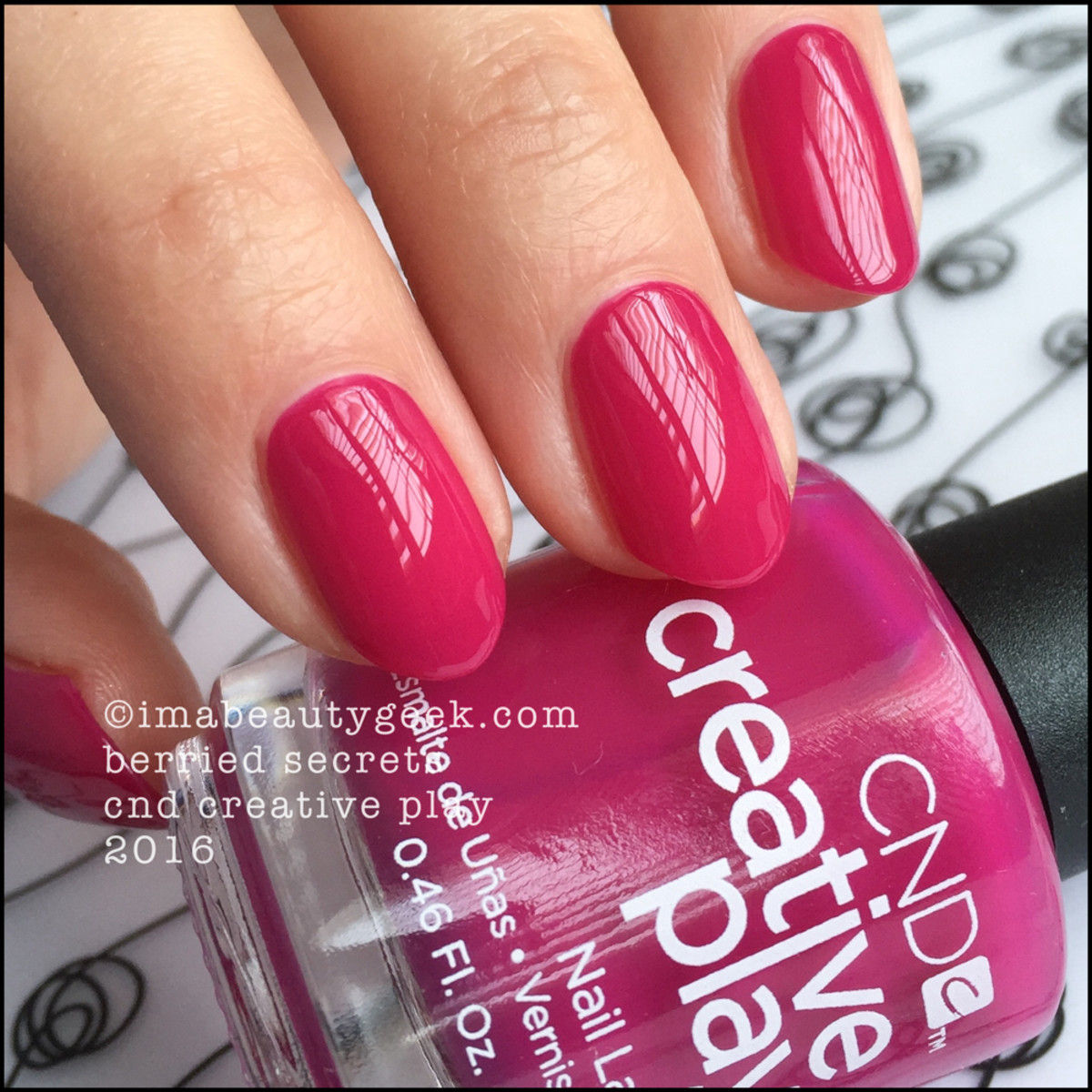 CND Creative Play Berried Secrets_CND Creative Play Nail Polish Swatches